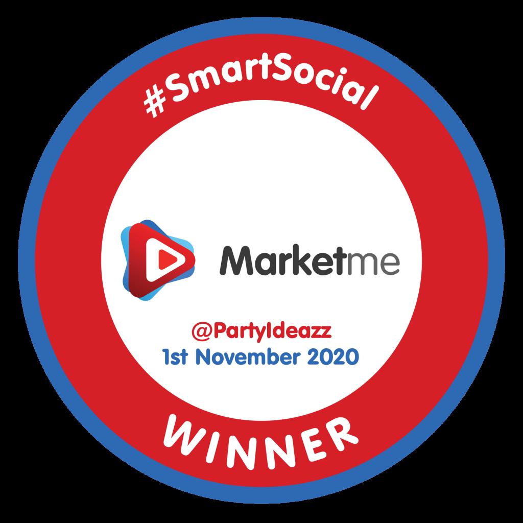 @PartyIdeazz SmartSocial Badge