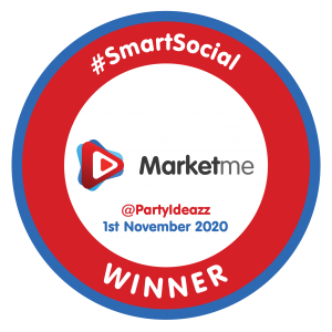 @PartyIdeazz SmartSocial Badge